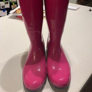 Pink UGG Rainboots